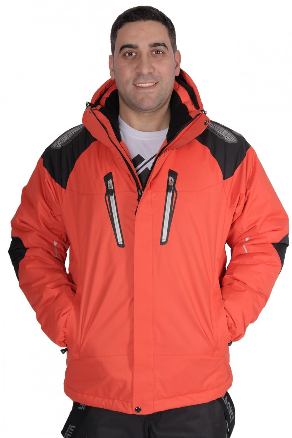 Купить                                  оптом Куртка горнолыжная мужская оранжевый цвета 1557O