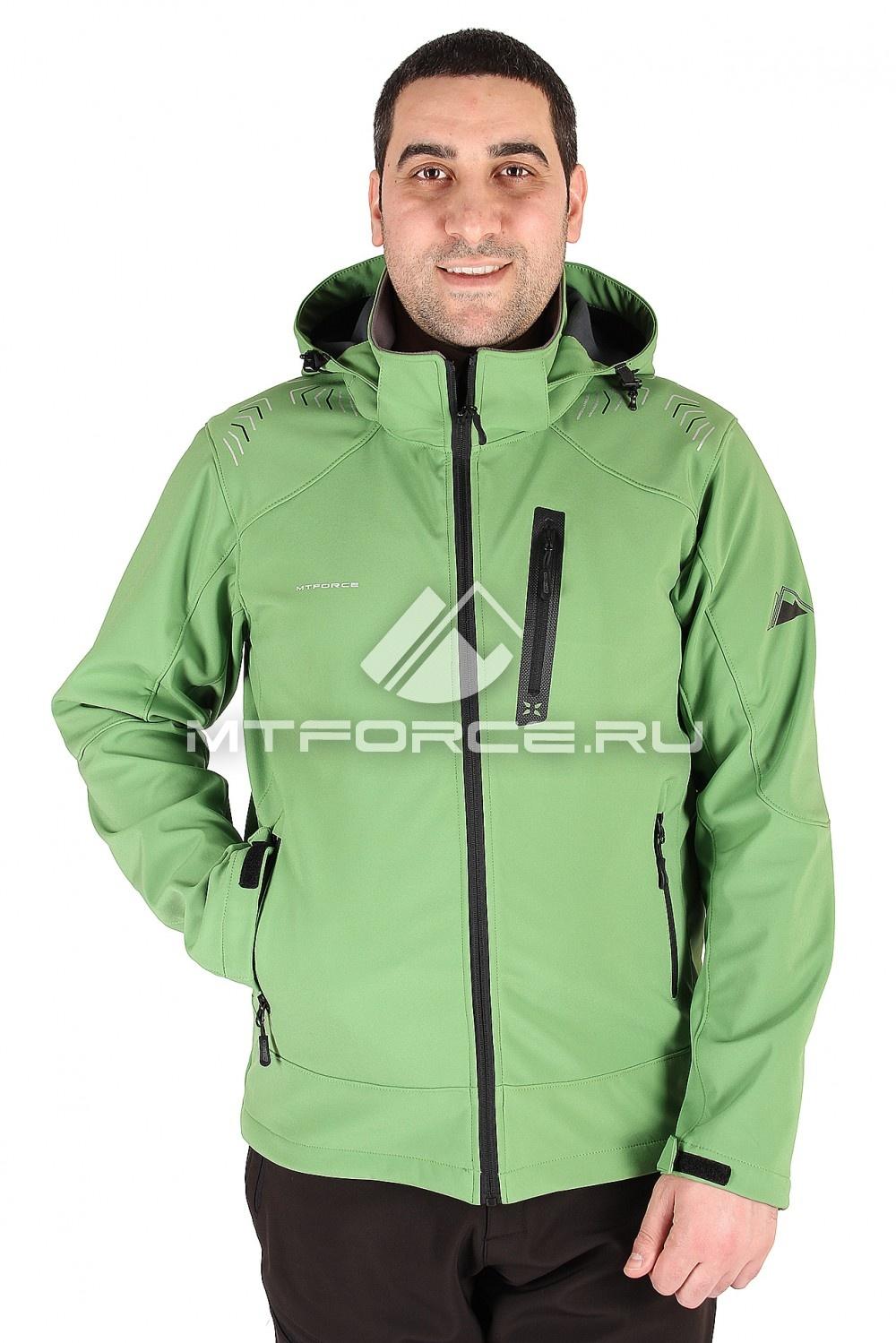 Купить                                  оптом Ветровка мужская зеленого цвета 1605Z