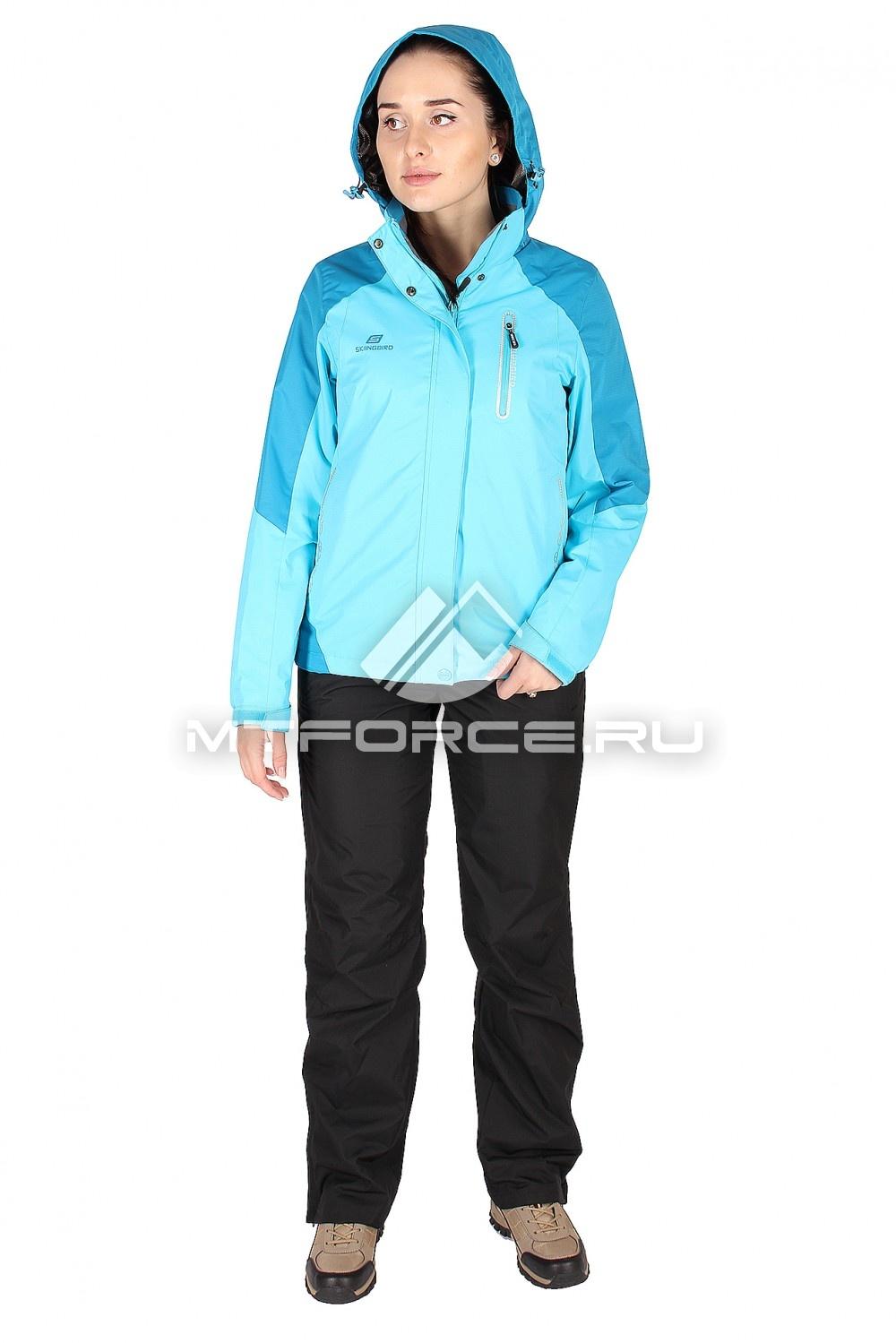 Купить                                  оптом Костюм женский синего цвета 01610S