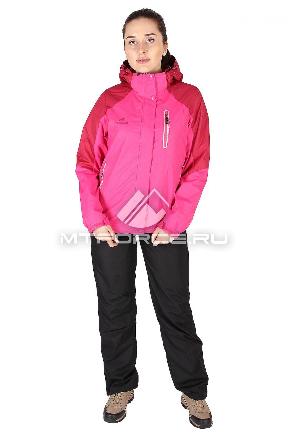 Купить оптом Костюм женский розового цвета 01610R