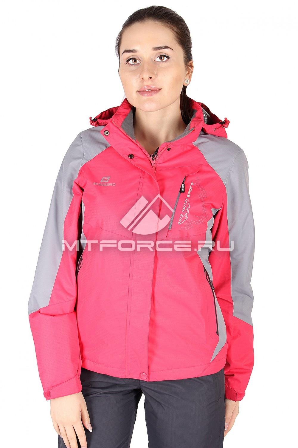 Купить                                  оптом Куртка спортивная женская весна красного цвета 1612Kr