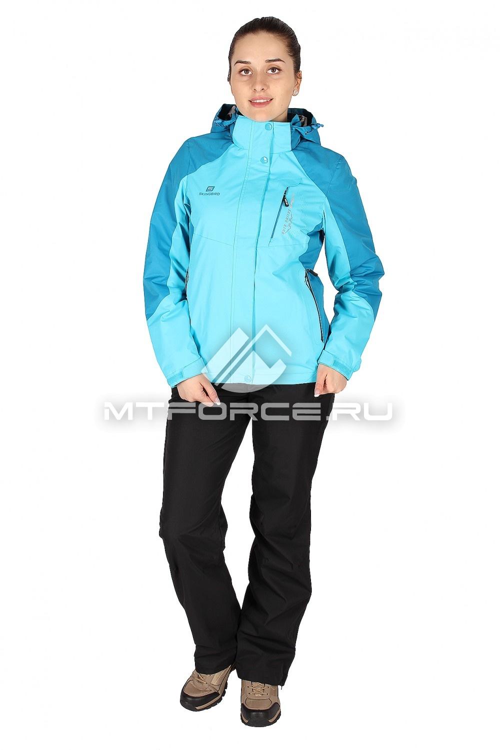 Купить                                  оптом Костюм женский синего цвета 01612S