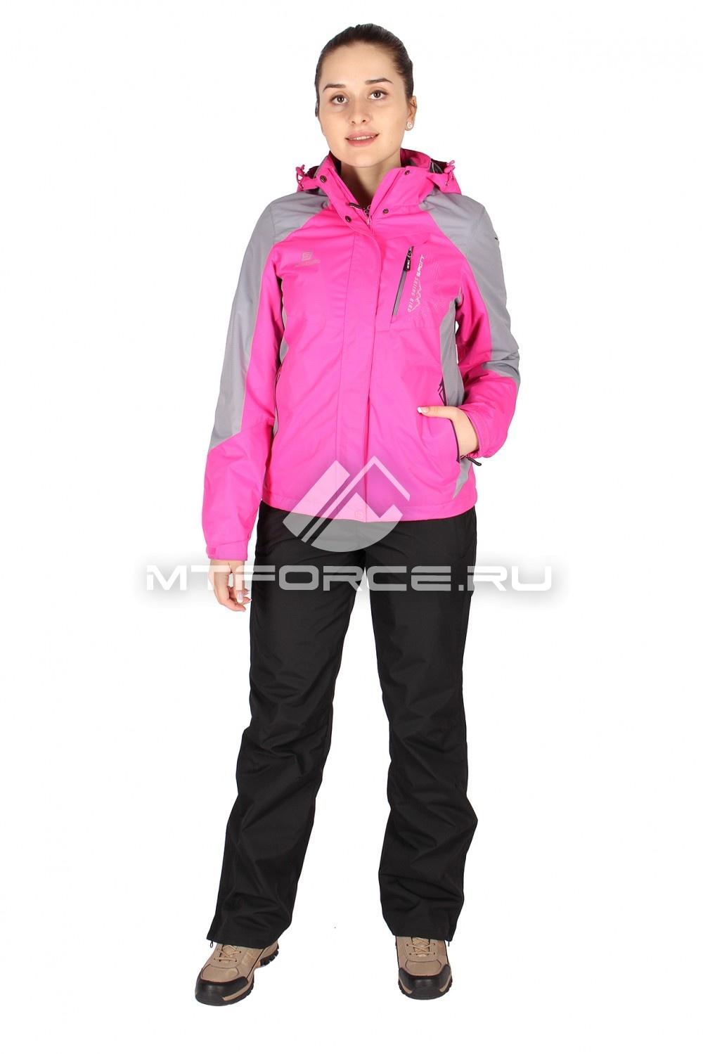 Купить оптом Костюм женский розового цвета 01612R