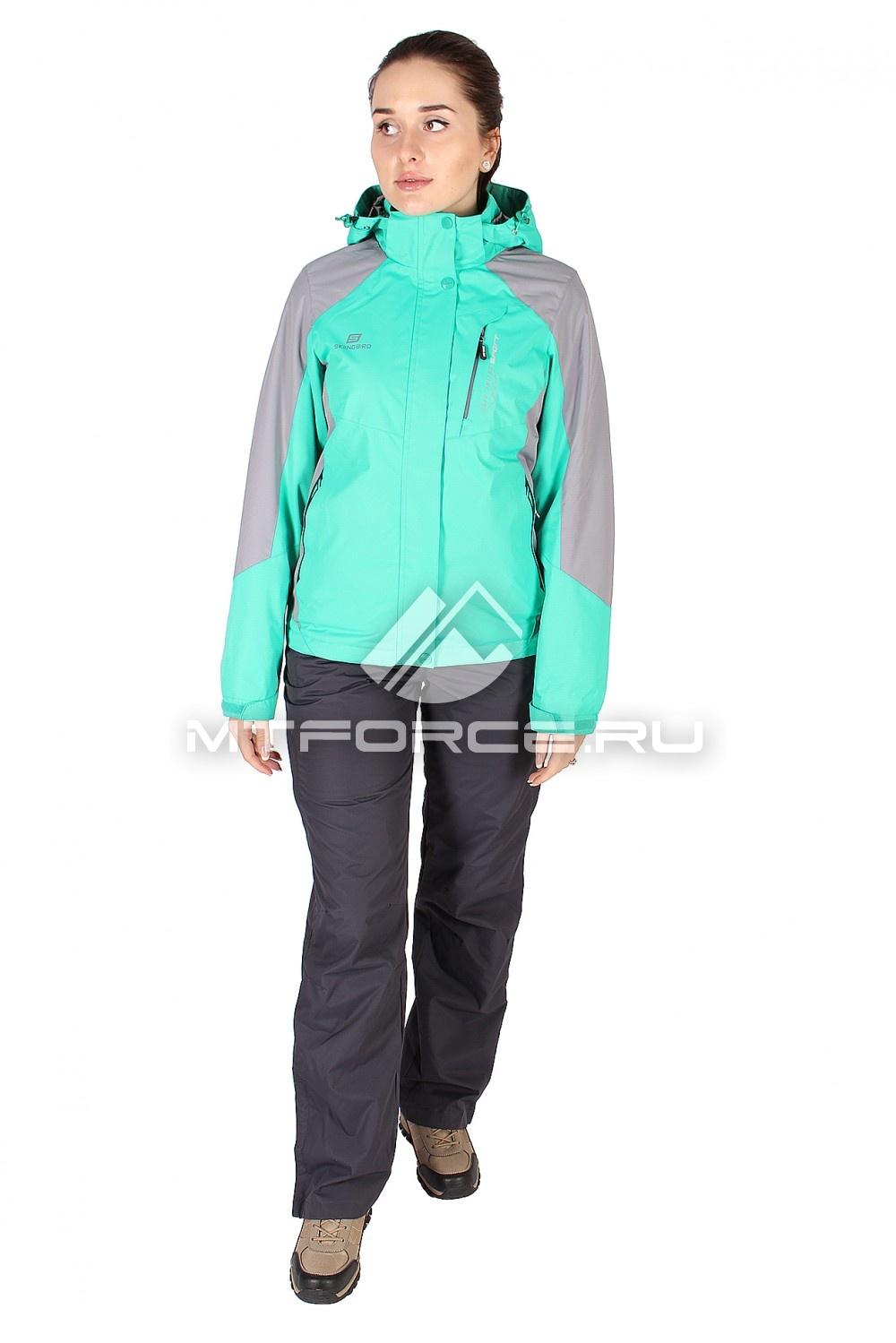 Купить                                  оптом Костюм женский зеленного цвета 01612Z