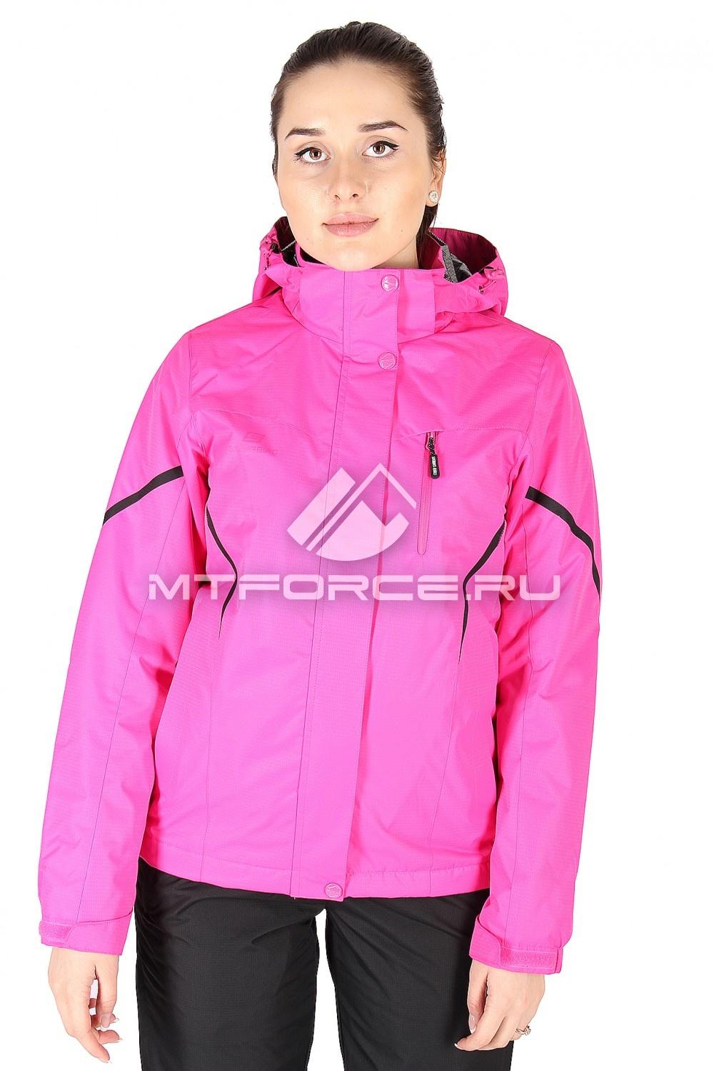 Купить                                  оптом Куртка спортивная женская весна розового цвета 1615R