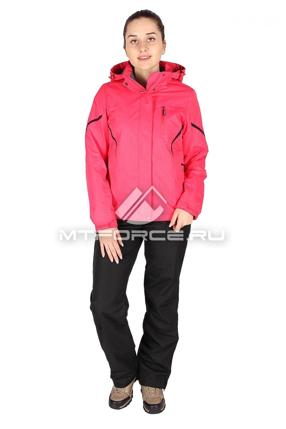 Купить                                  оптом Костюм женский красного цвета 01615Kr