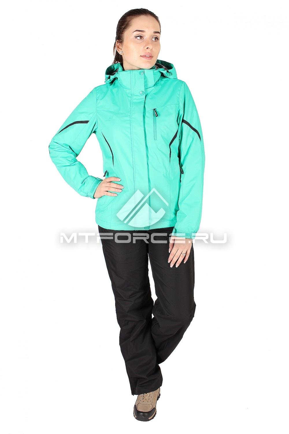 Купить                                  оптом Костюм женский зеленого цвета 01615Z