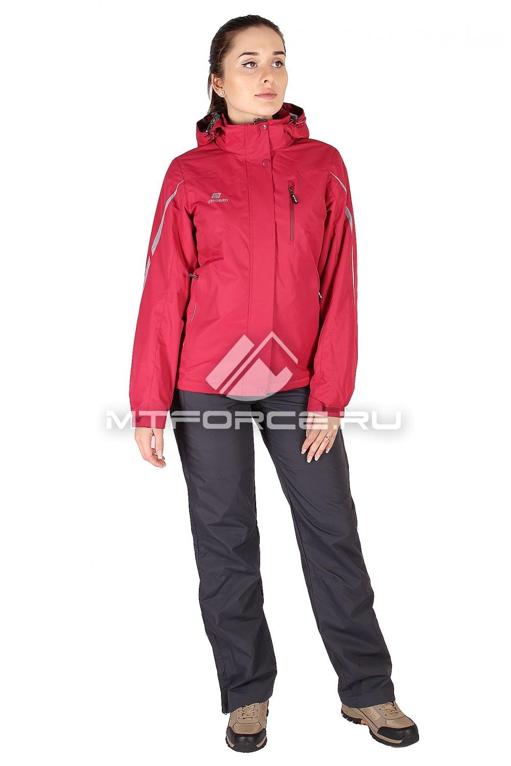 Купить                                  оптом Костюм женский красного цвета 01617Kr