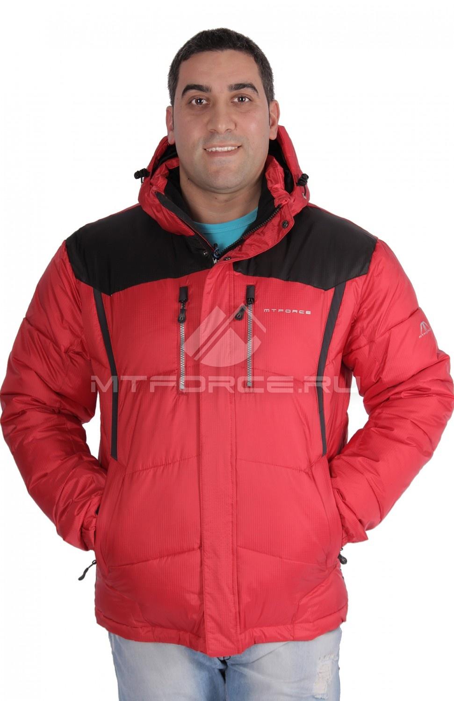 Купить                                  оптом Куртка зимняя мужская красного цвета 1624Kr