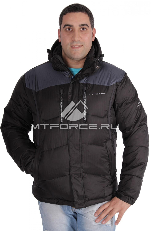 Купить                                  оптом Куртка зимняя мужская черного цвета 1624Ch