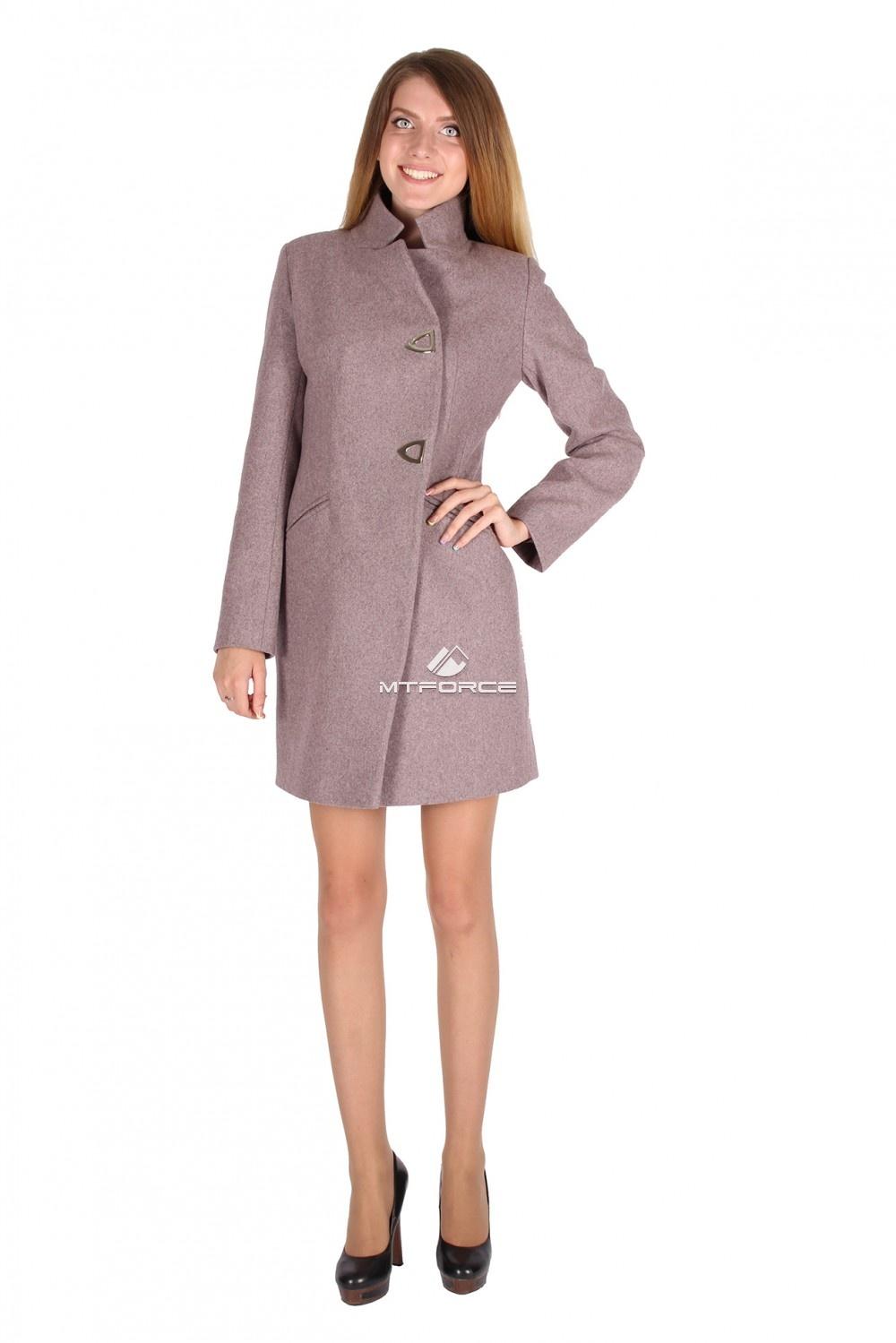 Купить                                  оптом Пальто женское фиолетового цвета 16269F