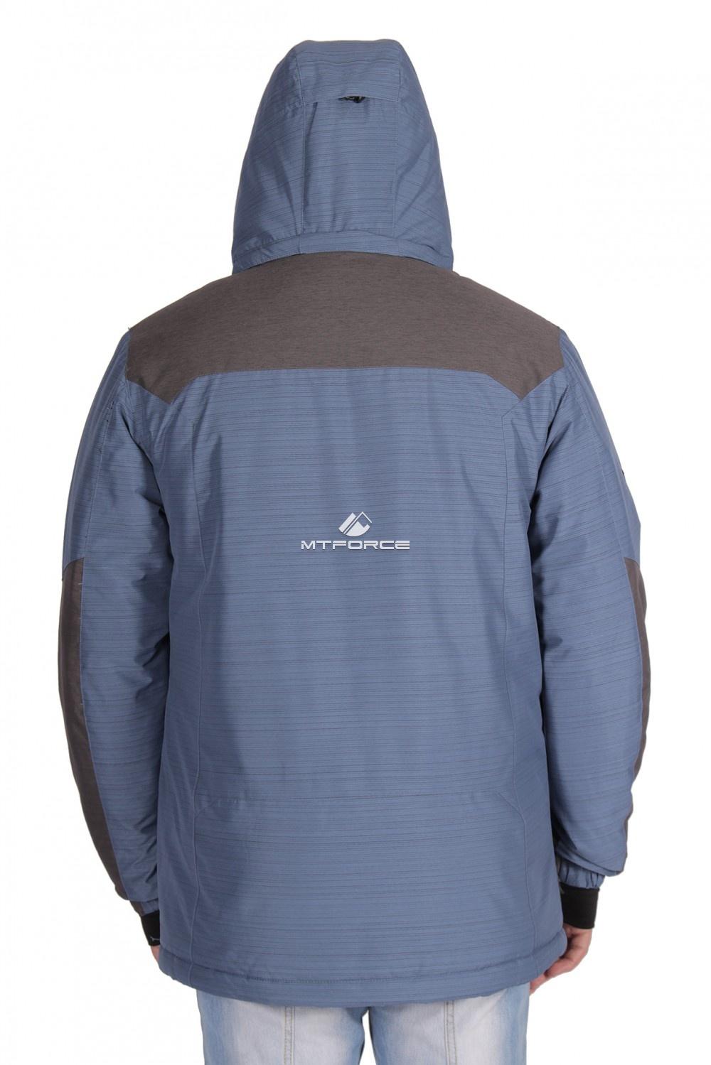 Купить оптом Куртка зимняя мужская синего цвета 1629S