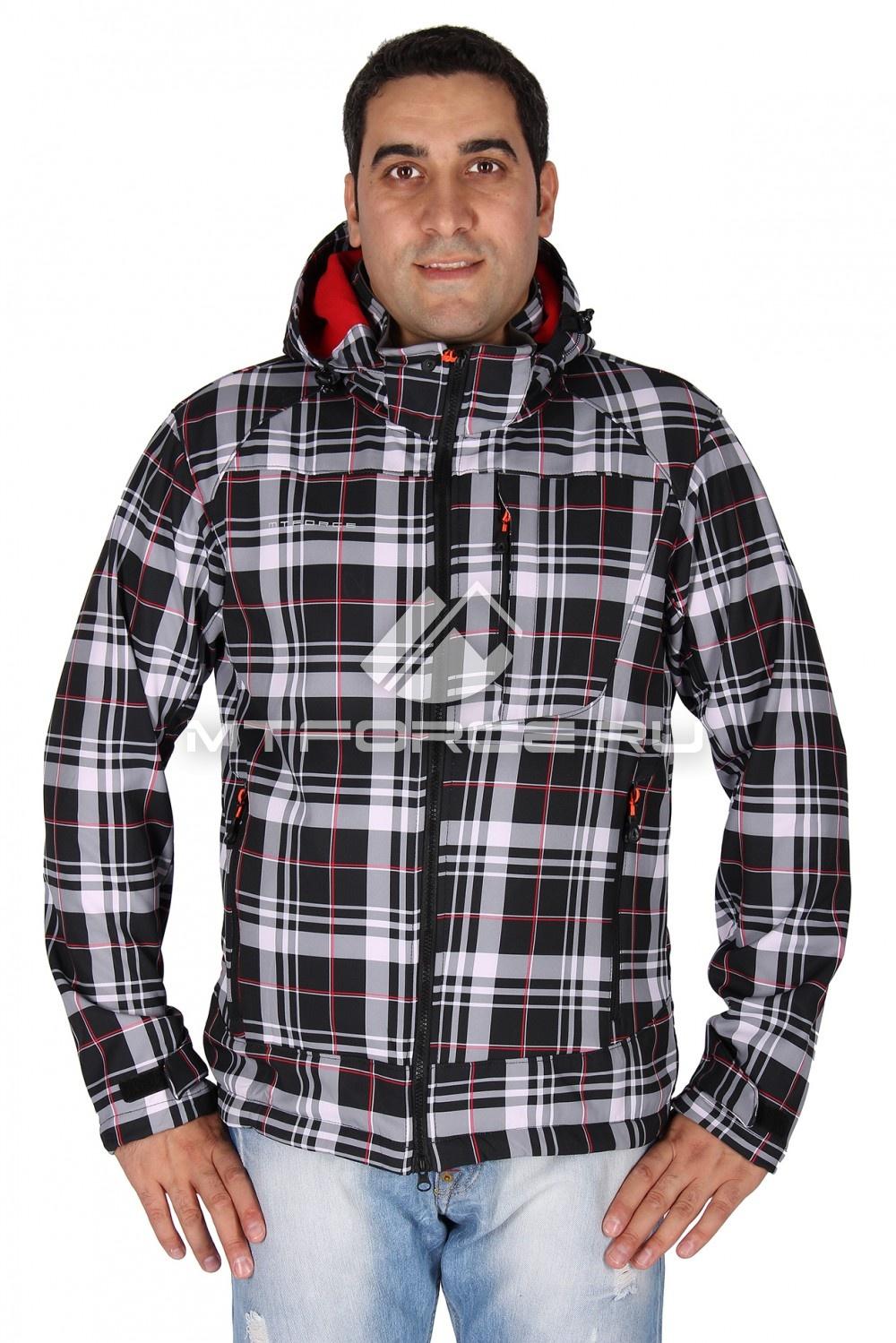 Купить                                  оптом Ветровка - виндстоппер мужская красного цвета 1636Kr