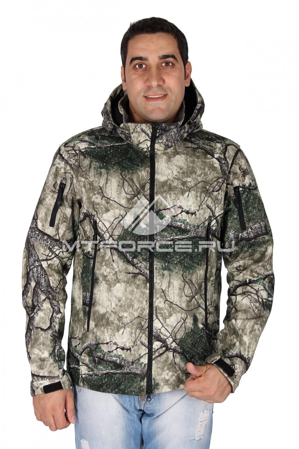 Купить                                  оптом Ветровка - виндстоппер мужская цвета хаки 1637Kh
