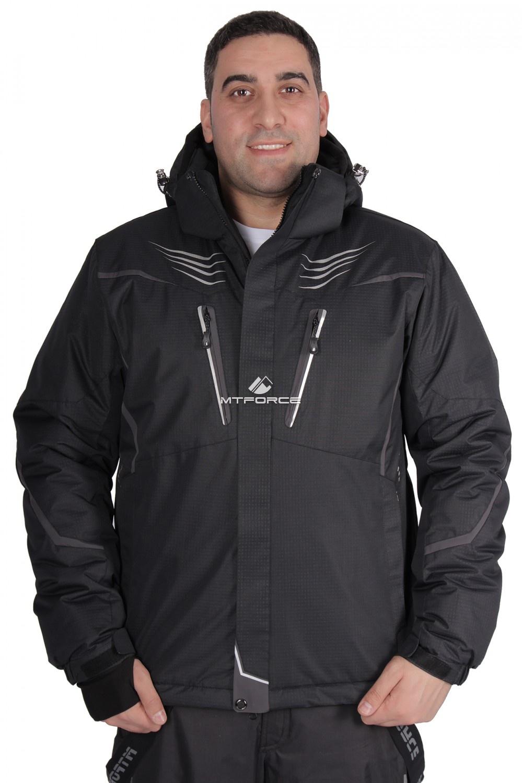 Купить                                  оптом Куртка горнолыжная мужская черного цвета 1651Ch