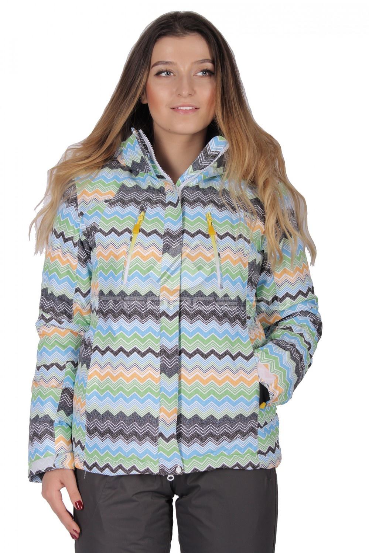 Купить                                  оптом Куртка горнолыжная женская салатового цвета 1701Sl