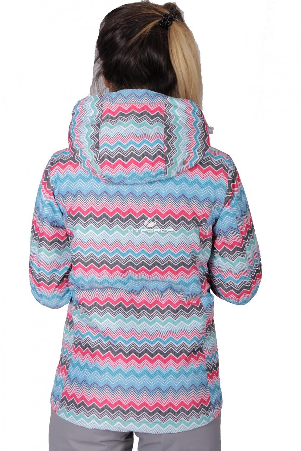 Купить оптом Куртка спортивная женская осень весна розового цвета 1716R в Перми