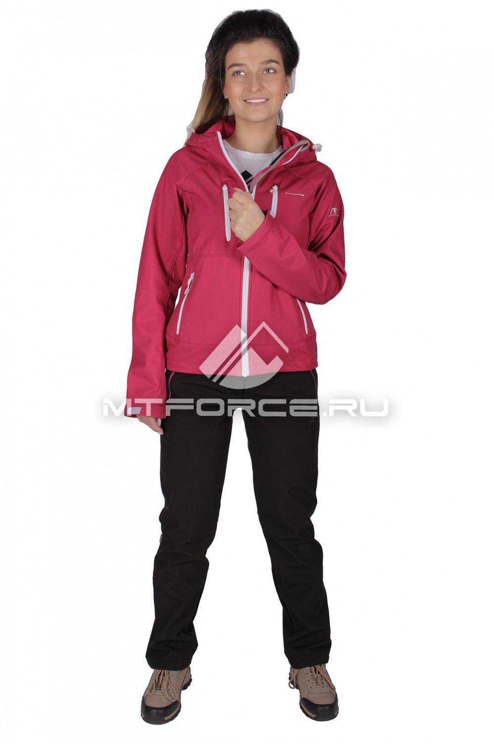 Купить                                  оптом Костюм виндстопер женский розового цвета 01736R в Новосибирске
