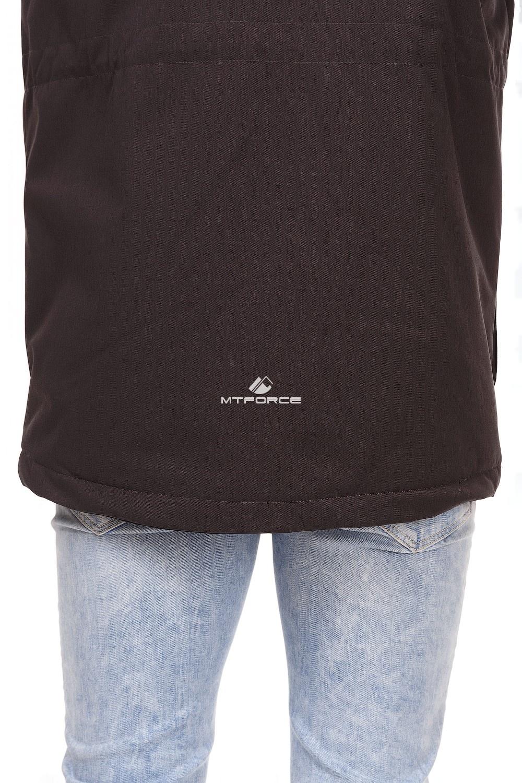 Купить оптом Куртка мужская осень весна темно-серого цвета 1742TC в Ростове-на-Дону