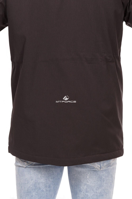 Купить оптом Куртка мужская осень весна темно-серого цвета 1747TC в Волгоградке