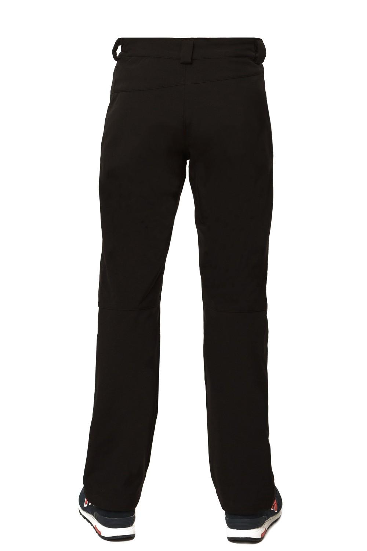 Купить оптом Брюки виндстопер мужские черного цвета 1762Ch