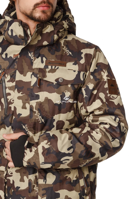 Купить оптом Костюм горнолыжный мужской цвета камуфляж  01763Km в Волгоградке