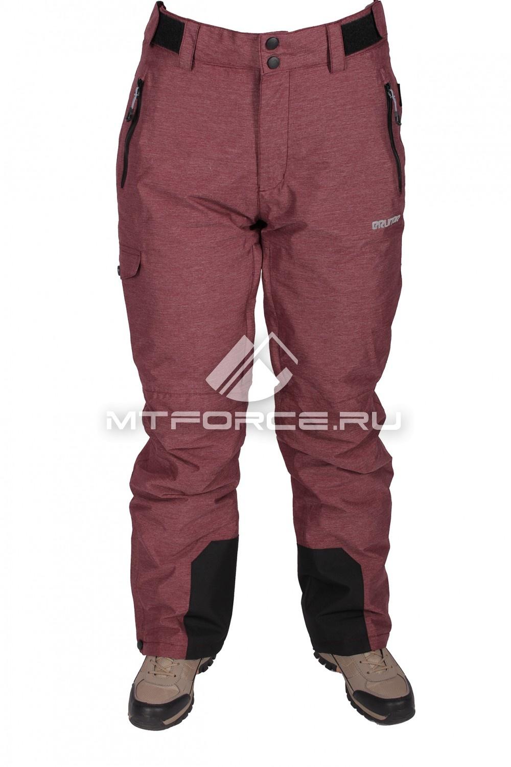 Купить                                  оптом Брюки горнолыжные женские бордового цвета 17644Bo в Санкт-Петербурге