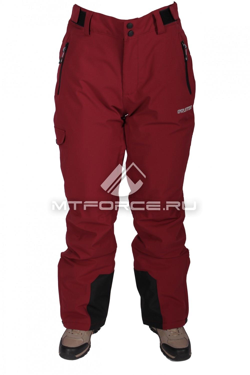 Купить                                  оптом Брюки горнолыжные женские красного цвета 17644Kr