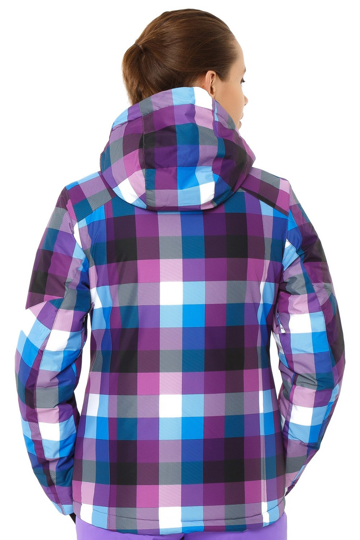 Купить оптом Костюм горнолыжный женский фиолетового цвета 01807F в Сочи
