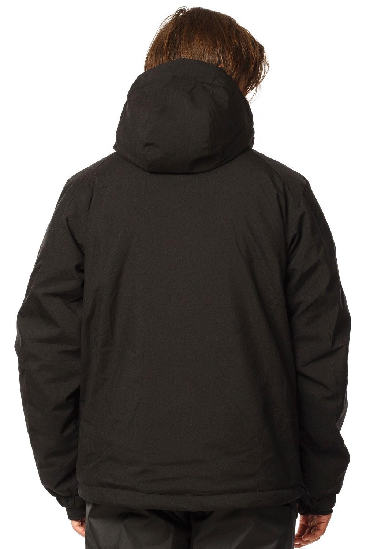Купить оптом Костюм горнолыжный мужской черного цвета 01768Ch