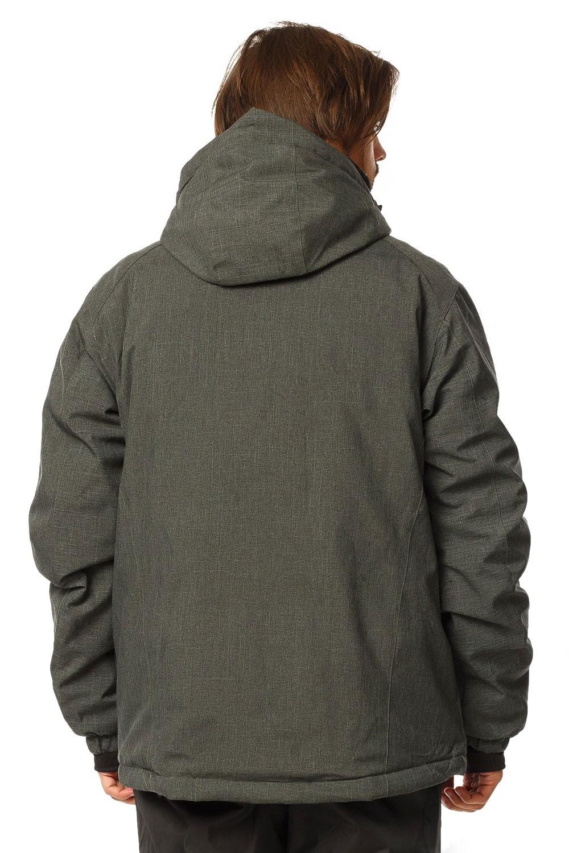 Купить оптом Куртка горнолыжная мужская хаки цвета 1768Kh