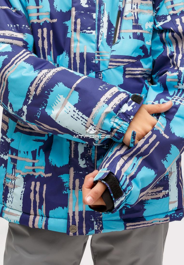 Купить оптом Костюм горнолыжный для девочки голубого цвета 01773Gl в Нижнем Новгороде