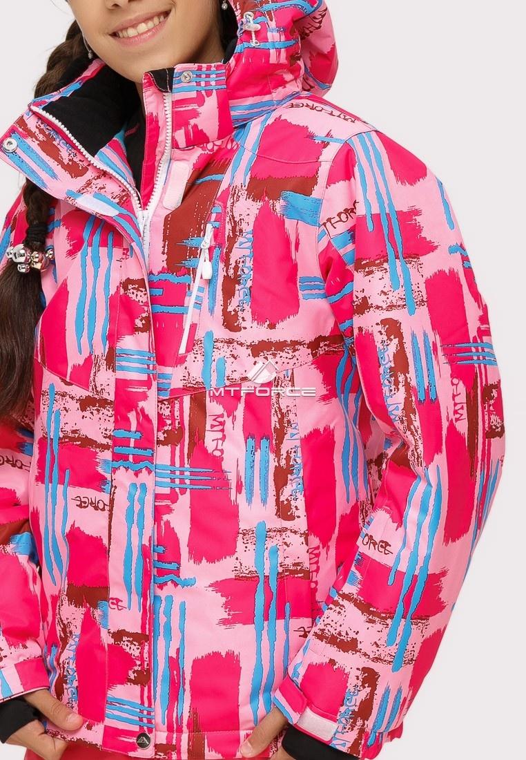 Купить оптом Костюм горнолыжный для девочки розового цвета 01774R в Сочи