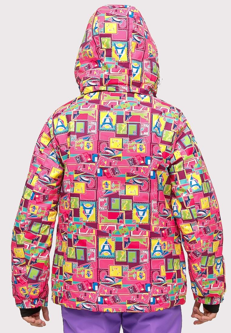 Купить оптом Костюм горнолыжный для девочки розового цвета 01774-1R в Санкт-Петербурге