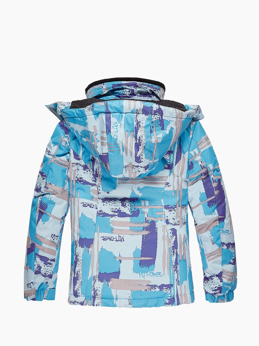 Купить оптом Костюм горнолыжный для девочки голубого цвета 01774Gl в Санкт-Петербурге