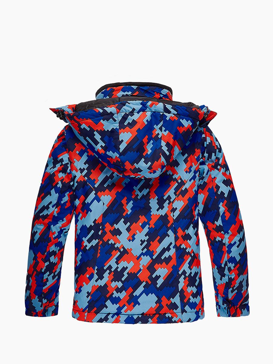 Купить оптом Костюм горнолыжный для девочки красного цвета 01774Kr в Санкт-Петербурге