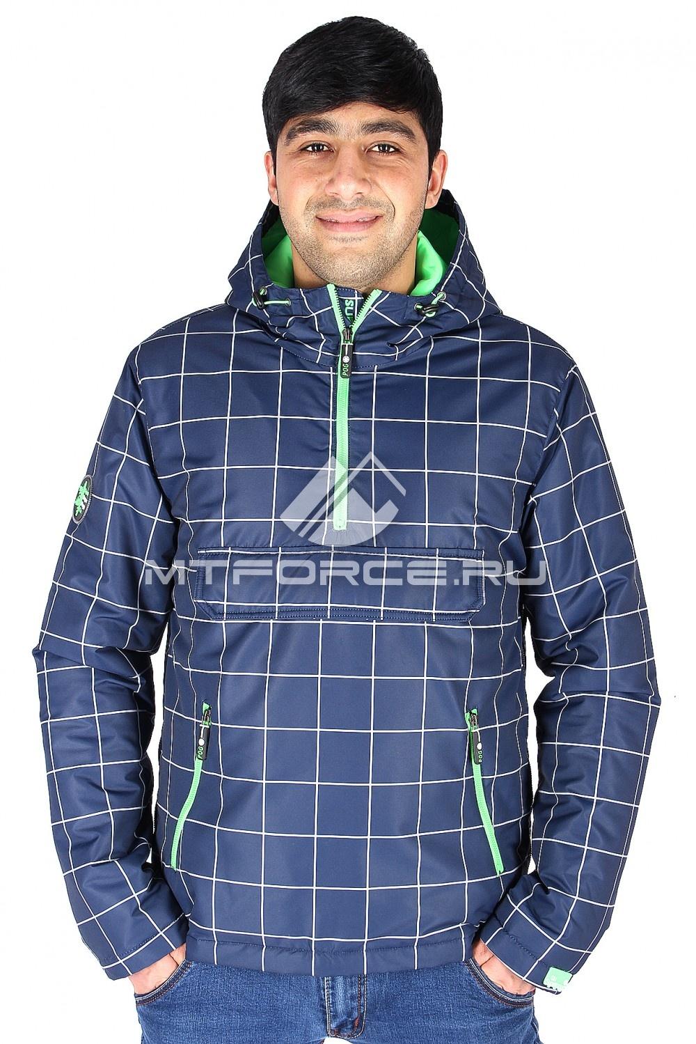 Купить                                  оптом Куртка анорак мужская салатового цвета 177Sl