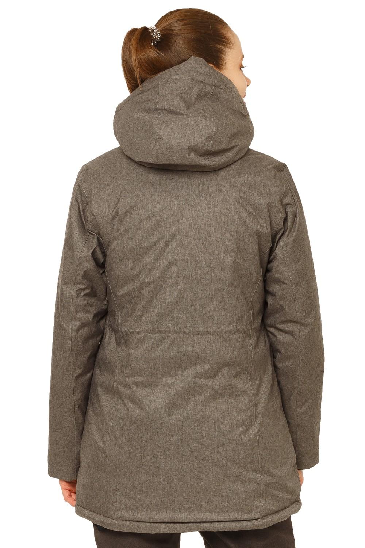 Купить оптом Куртка горнолыжная женская большого размера темно-серого цвета 1783ТС в Нижнем Новгороде