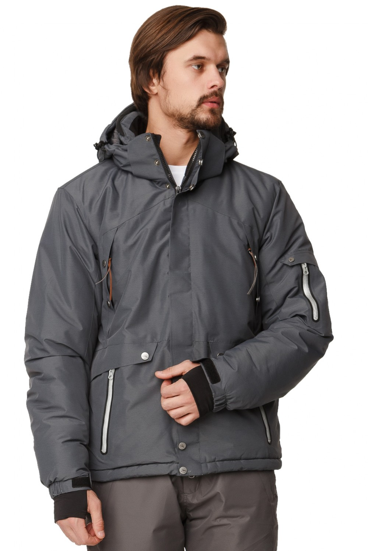 Купить оптом Куртка горнолыжная мужская темно-серого цвета 1788TC в Нижнем Новгороде
