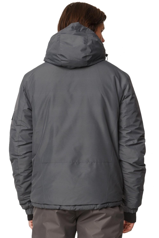 Купить оптом Костюм горнолыжный мужской темно-серого цвета 01788TC в Челябинске