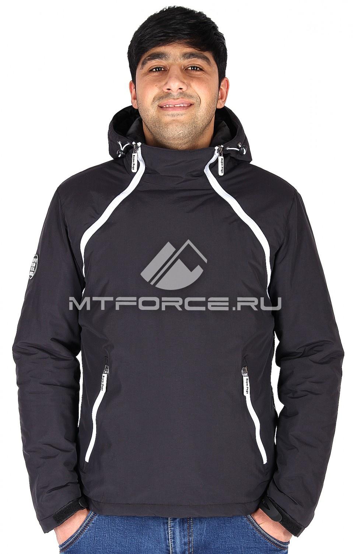 Купить оптом Куртка анорак мужская черного цвета 178Ch