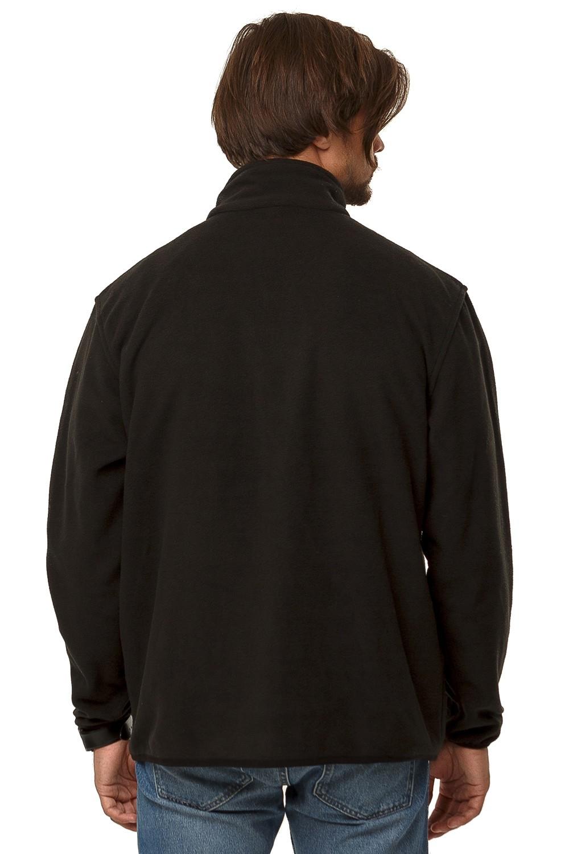 Купить оптом Толстовка мужская утепленная черного цвета 1790Ch в Самаре