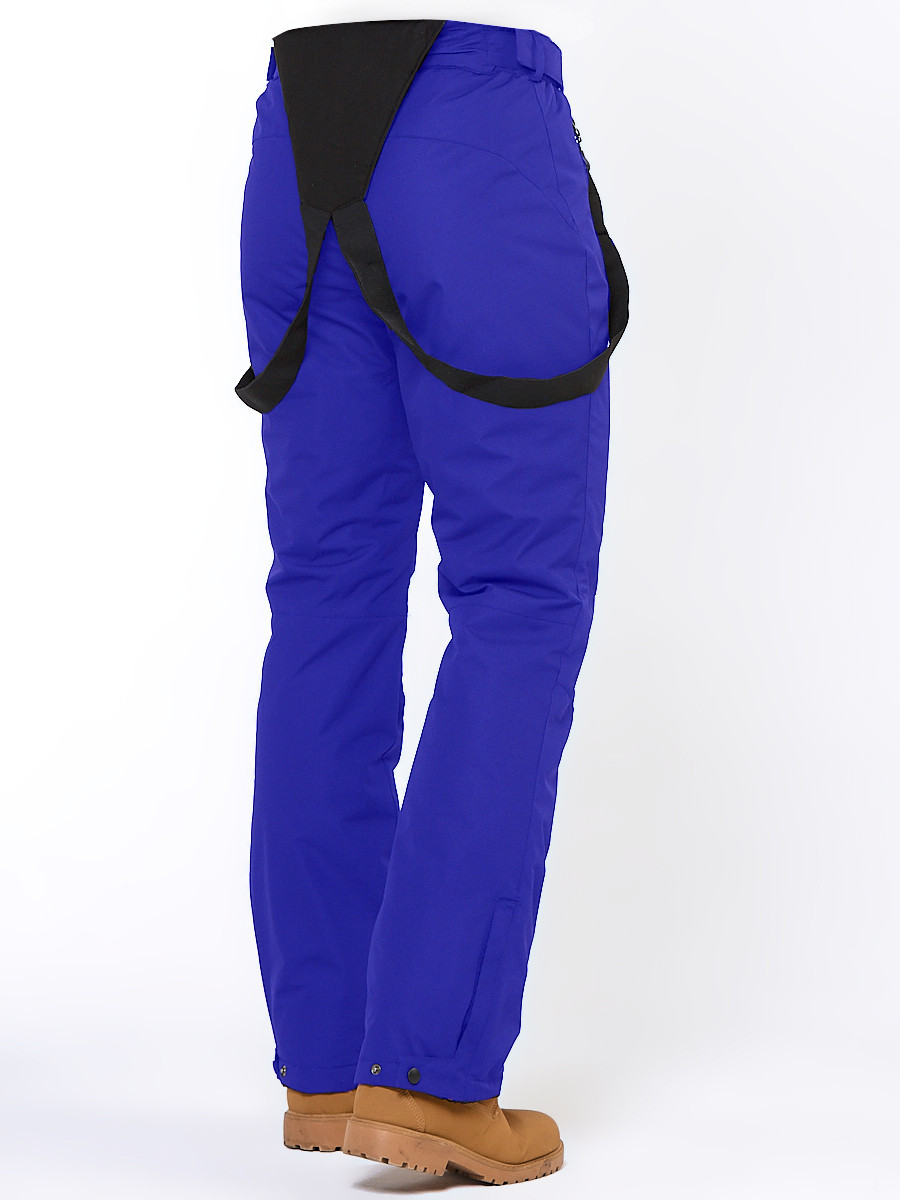 Купить оптом Брюки горнолыжные мужские синего цвета 18005S в Перми