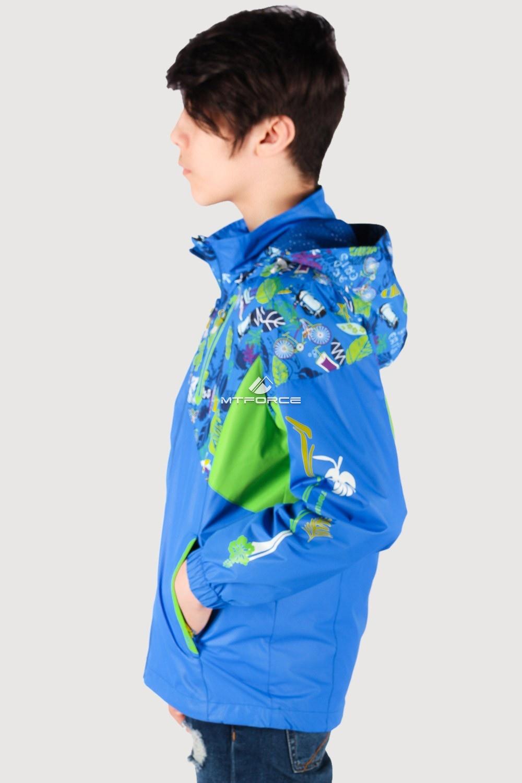 Купить оптом Олимпийка подростковая для мальчика синего цвета 18093S в Казани