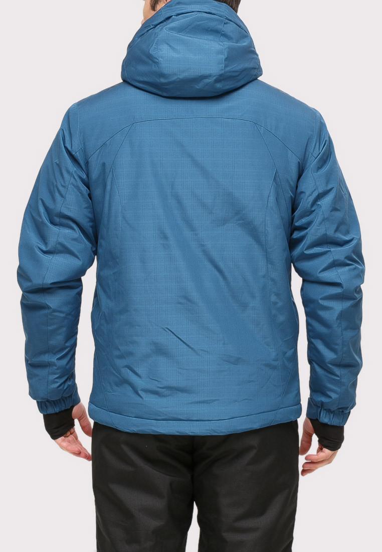 Купить оптом Костюм горнолыжный мужской голубого цвета 018109Gl в Санкт-Петербурге