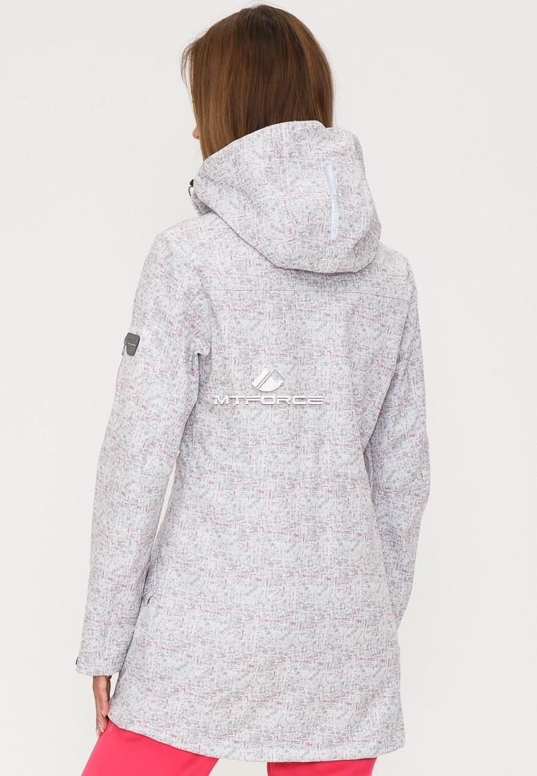 Купить оптом Костюм женский softshell светло-серого цвета 018110SS в Перми