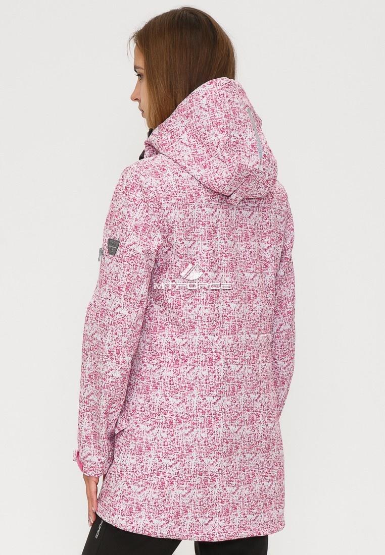 Купить оптом Костюм женский softshell розового цвета 018110R в Воронеже