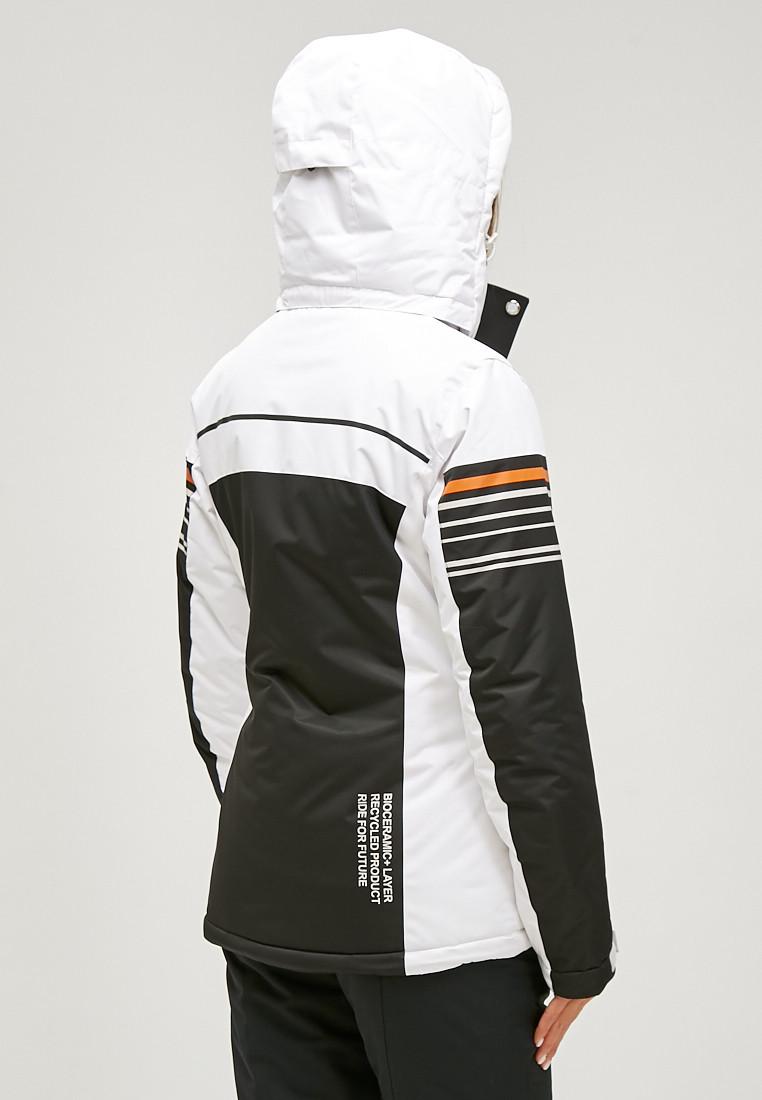 Купить оптом Женский зимний горнолыжный костюм черного цвета 01856Ch
