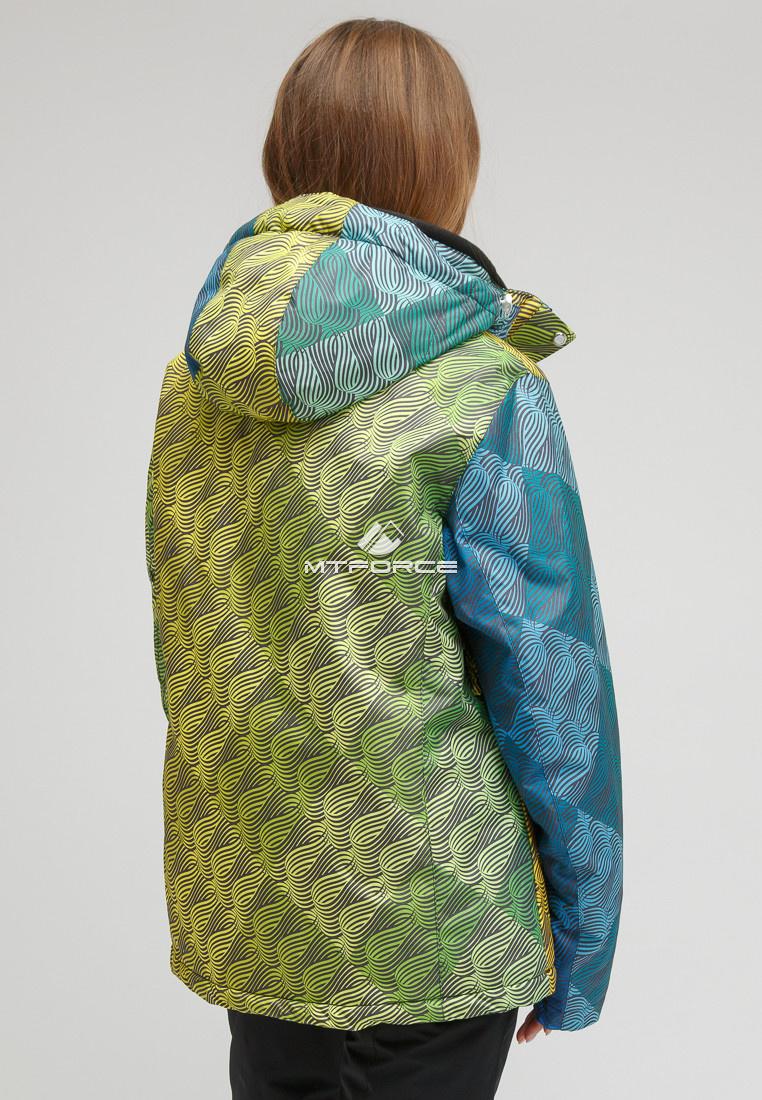 Купить оптом Костюм горнолыжный женский большого размера серого цвета 01830Sr в Воронеже