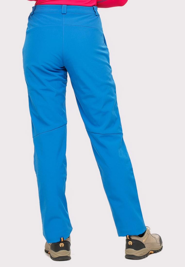 Купить оптом Брюки женские большого размера синего цвета  1852-1S в Санкт-Петербурге
